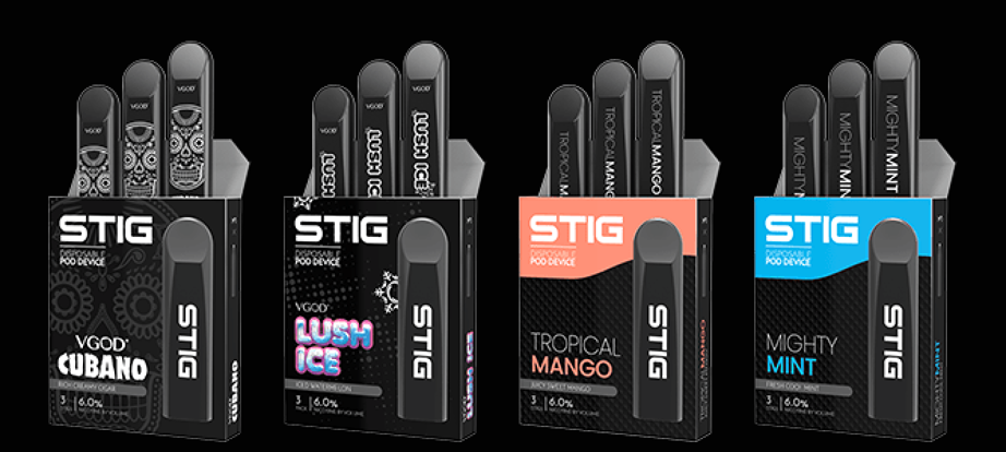 Know More About Top 4 Flavor Of STIG Pods - STIG